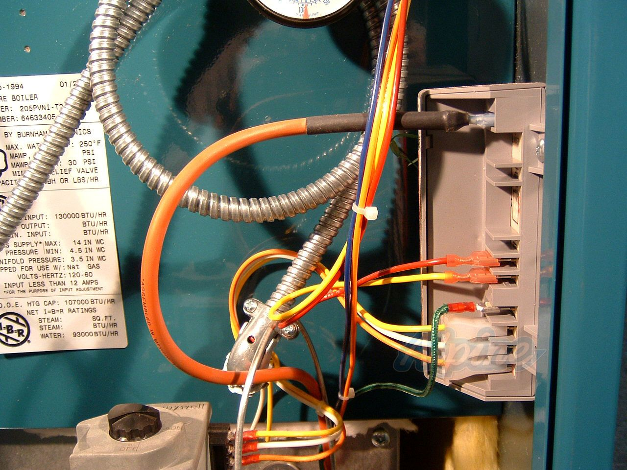 Burnham Steam Boiler Wiring Diagram