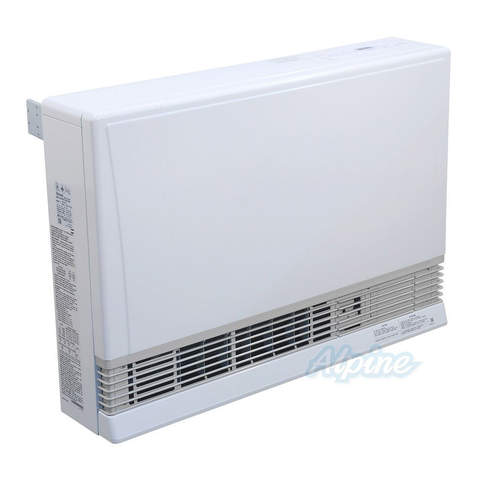 Rinnai Ex38ctwp 36 500 Btu Direct Vent 82 Efficiency Liquid Propane White Wall Furnace
