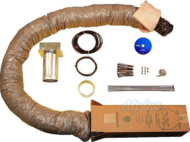 Alpine Home Air Products KIT091 Fresh Air System Installation Kit