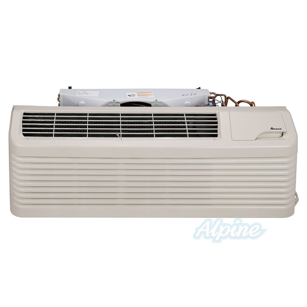 Amana Pth153g50axxx 14 000 Btu 1 18 Ton Cooling 17 100 Heating 9 Ptac Thermostat Wiring 7 Eer Heat Pump 5kw Strip R 410a Refrigerant
