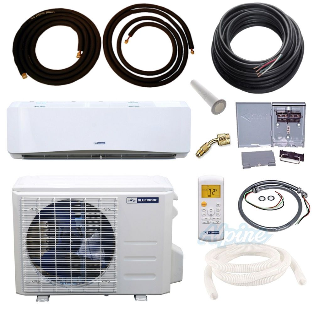 Blueridge BM12Y19 KIT 12 000 BTU 1 Ton 19 SEER Mini Split
