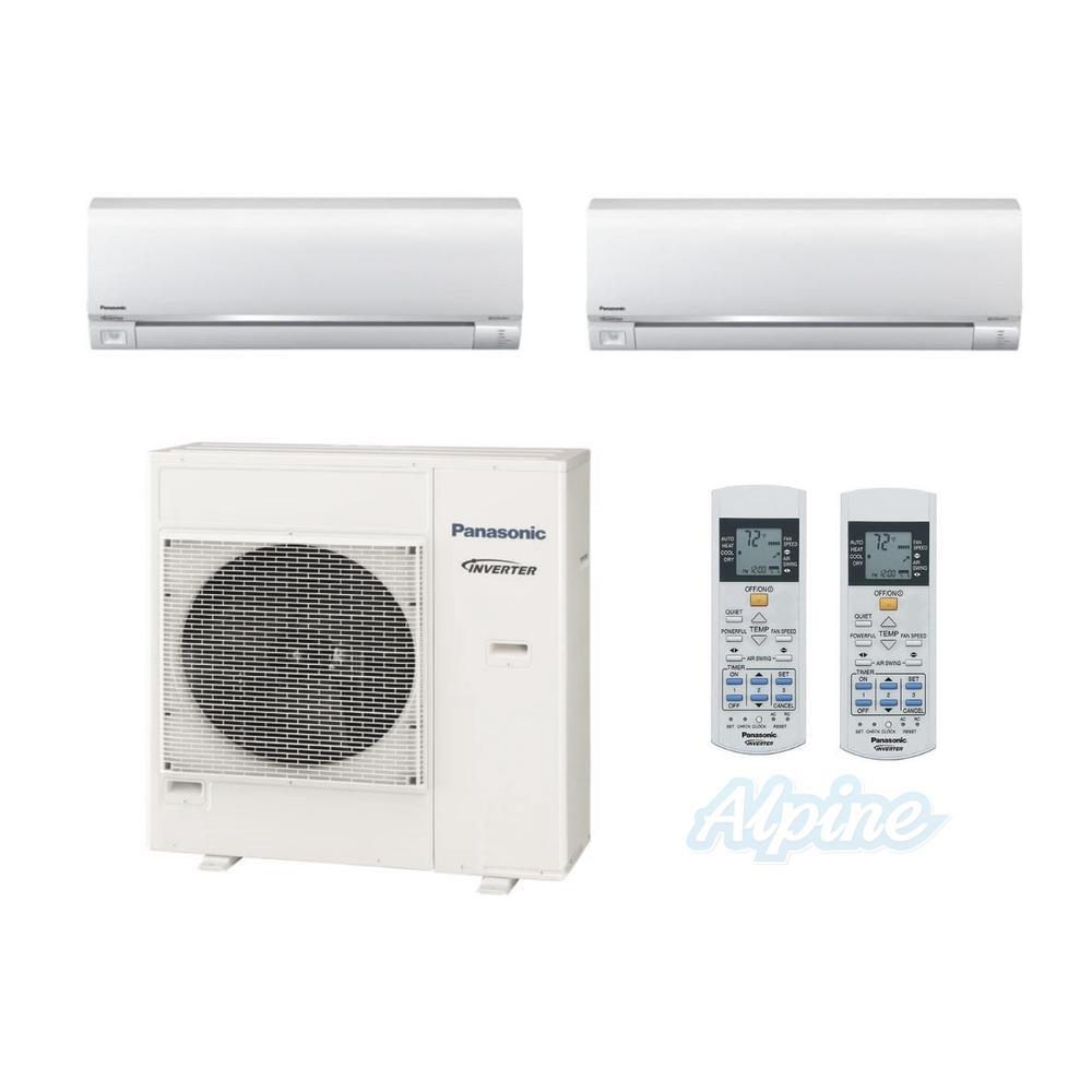 Panasonic PMZ36DR185 18W 18W 36 000 BTU 3 0 Ton 18 5 SEER