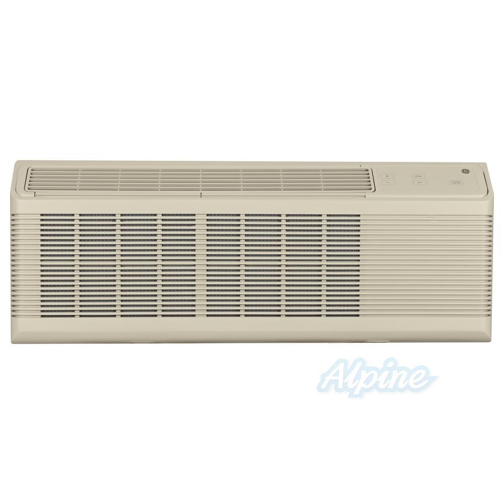 GE AZ65H12DAB 12 100 BTU Cooling 1 Ton 10 500 BTU Heating 11 9 EER Heat  Pump PTAC with Supplemental Resistance Heat R 410A Refrigerant