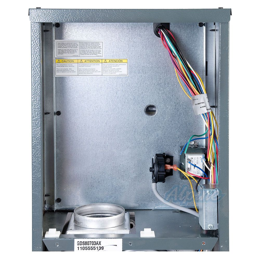Goodman Gds81005cn 100 000 Btu Furnace 80 Efficiency