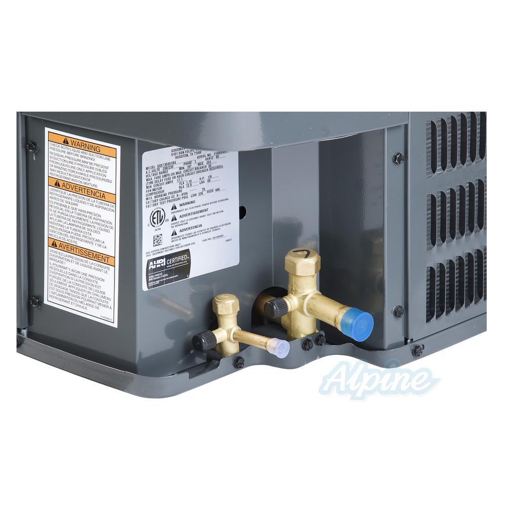 Goodman Gsx130601 5 Ton 13 10 14 Seer Condenser R 410a Refrigerant Refrigeration Wiring Diagram View All Photos