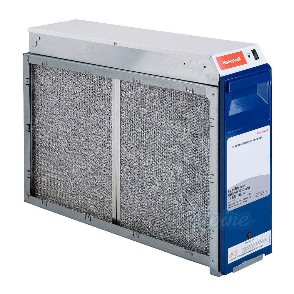 Honeywell F300e1035 Instructions Brochures 25 1 2w X 6 3 4d X 20 3 16h Inch Enviracaire Whole House Electronic Air Cleaner