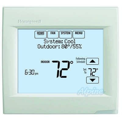 honeywell th8321r1001 instructions_brochures visionpro 8000honeywell th8321r1001 visionpro 8000 programmable touchscreen thermostat