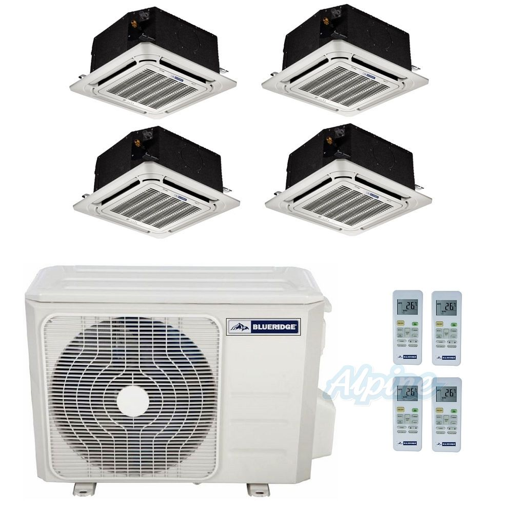 Blueridge Bm36m23c 9c 12c 36 000 Btu 3 0 Ton 22 5 Seer Four Air Conditioner Electronical Circuit Board Buy Midea Zone Ductless Mini Split Heat Pump System Wi Fi Capable