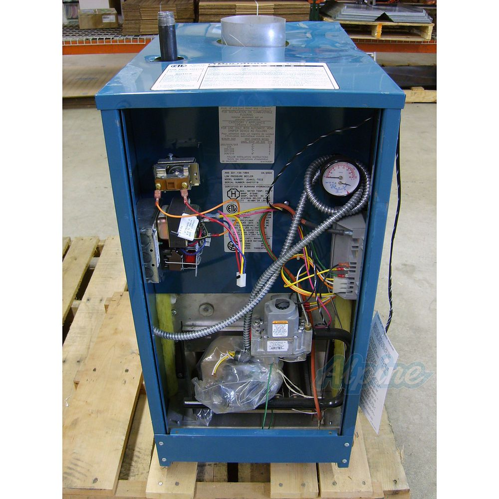 Burnham 204nil Gei2 Item No 1551 96 000 Btu Water Boiler