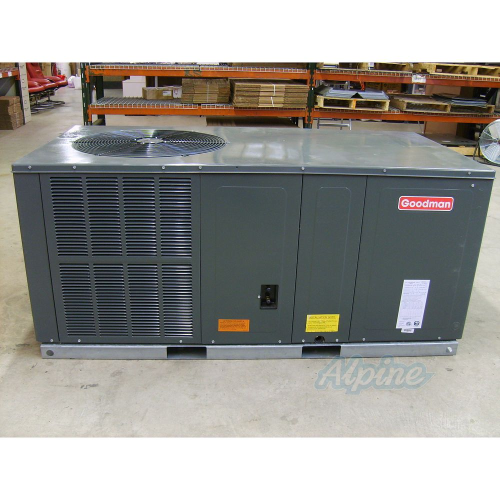 Goodman Gph1330h21a Self Contained Heat Item No 3089 Accessories 2 5 Ton 13 Seer Self Contained Packaged Heat Pump