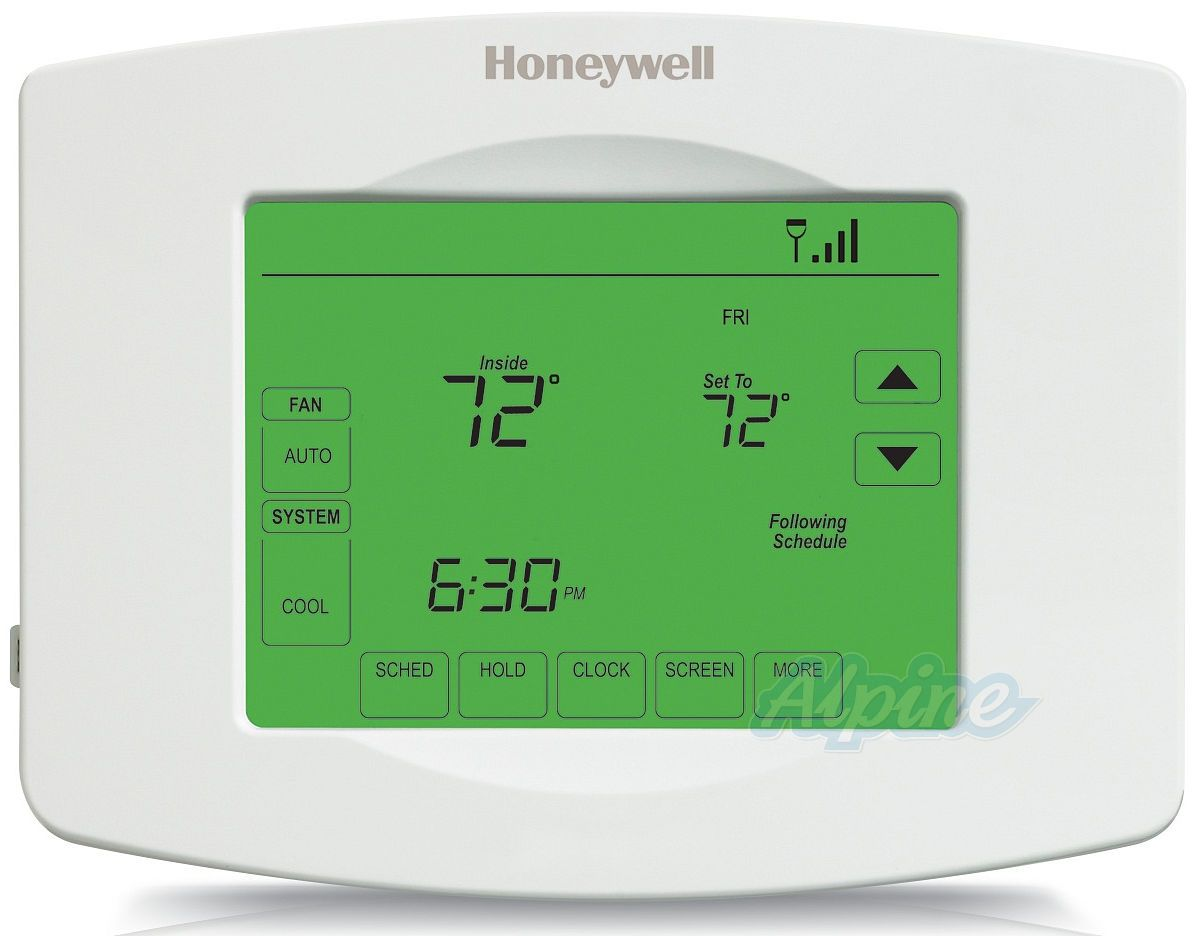 honeywell th8320wf1029 wi fi visionpro 8000 universal programmable thermostat three stage heat. Black Bedroom Furniture Sets. Home Design Ideas