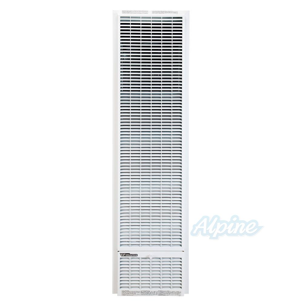 Williams 3509822 35 000 Btu 69 Afue Top Vent Wall Furnace Monterey Plus Air Outlet Natural Gas No Electricity Required