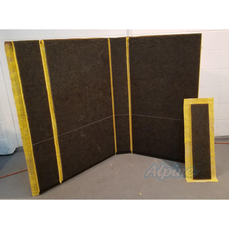 Concealed Duct Plenum Kit Front