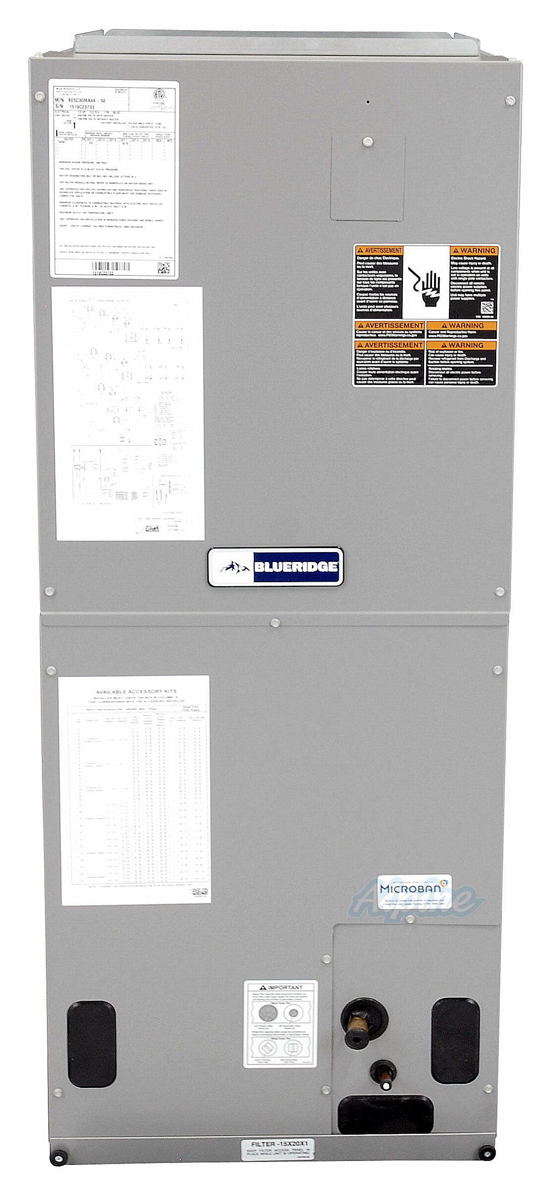 Blueridge BE5V Multi Positional Variable Speed Air Handler 1
