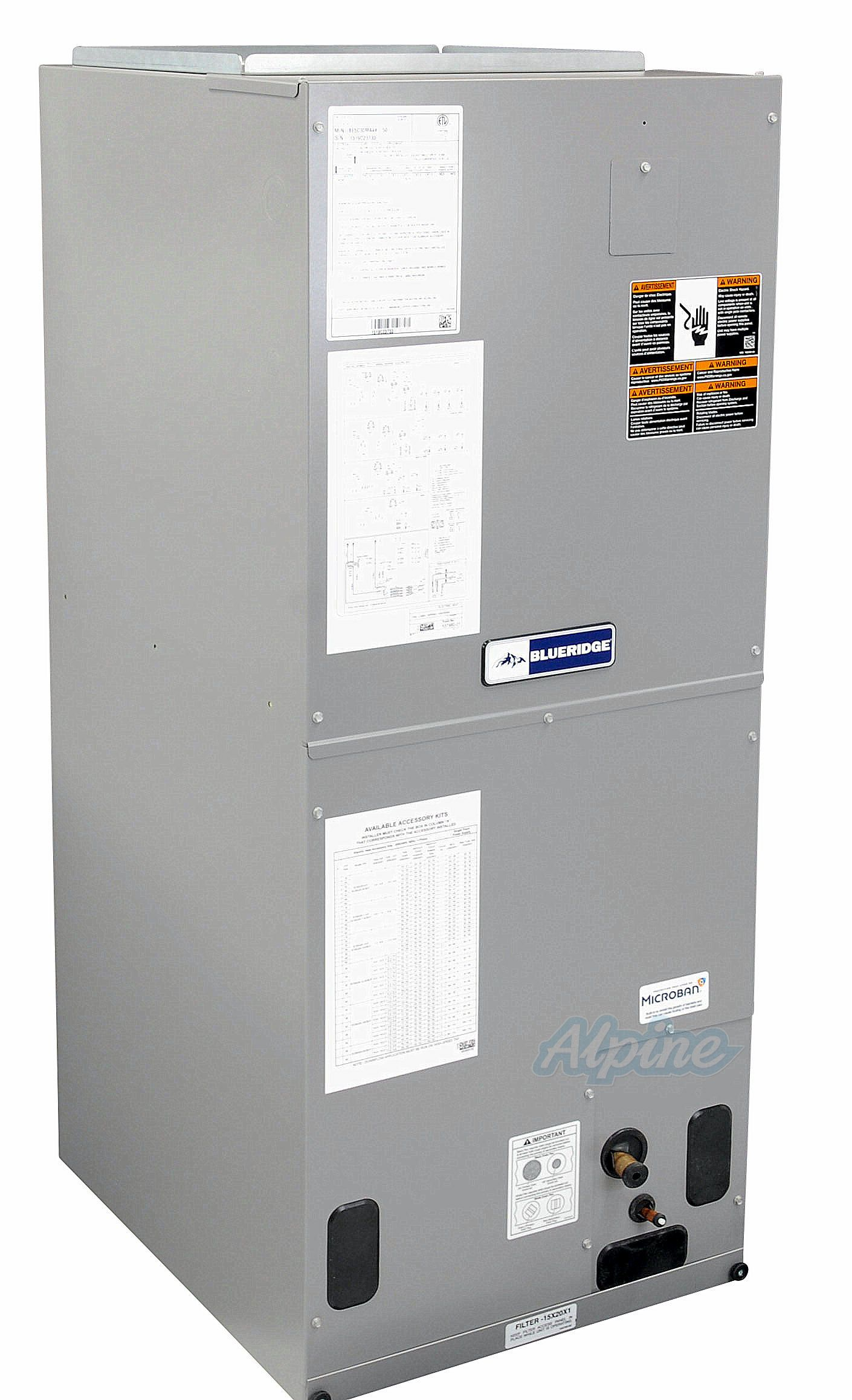 Blueridge BE5V Multi Positional Variable Speed Air Handler 2