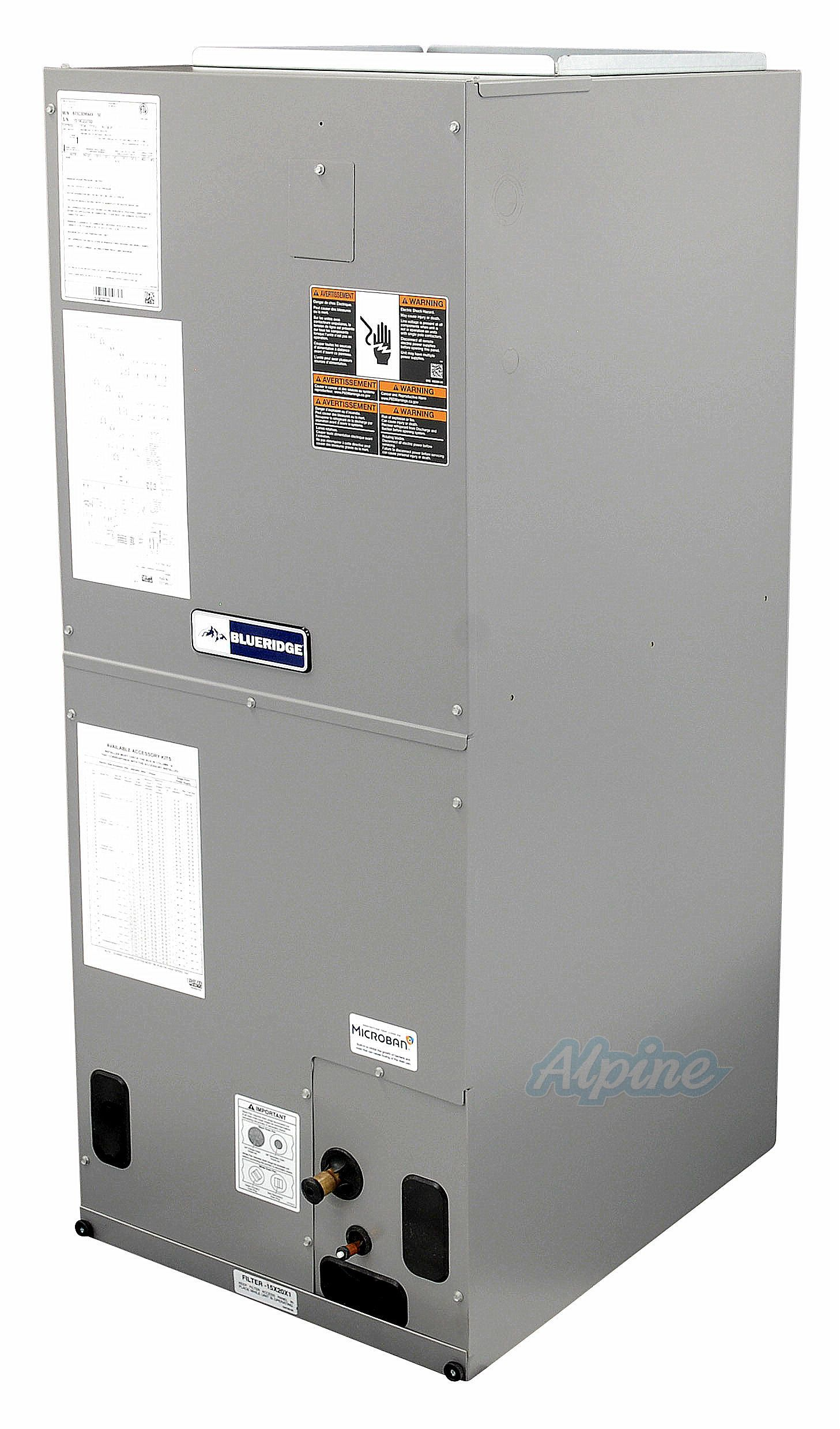 Blueridge BE5V Multi Positional Variable Speed Air Handler 3