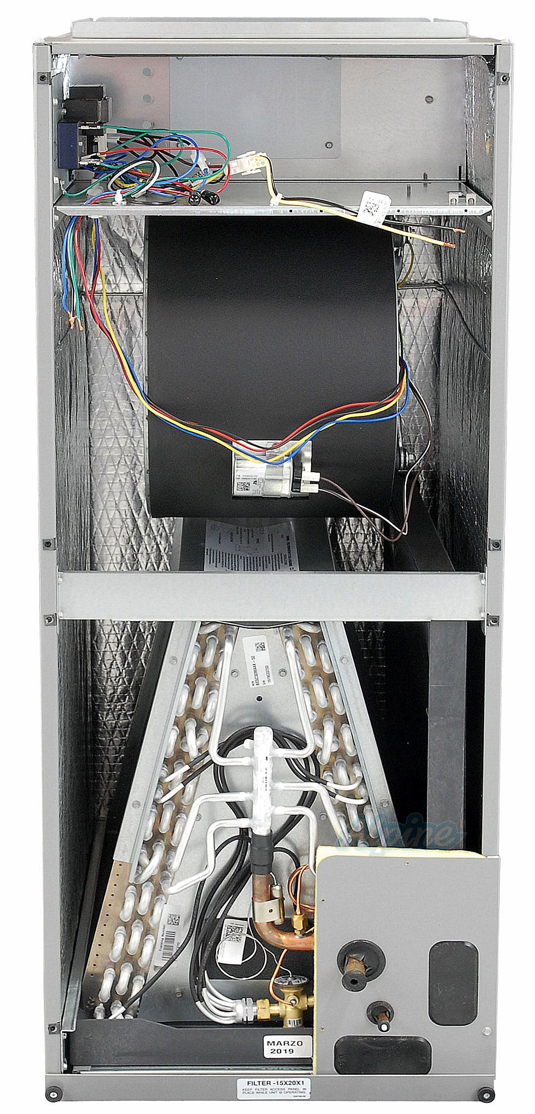 Blueridge BE5V Multi Positional Variable Speed Air Handler 5