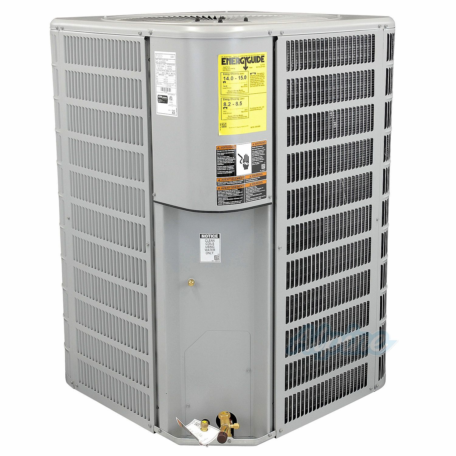 Blueridge BHP15 15 SEER Heat Pump 4