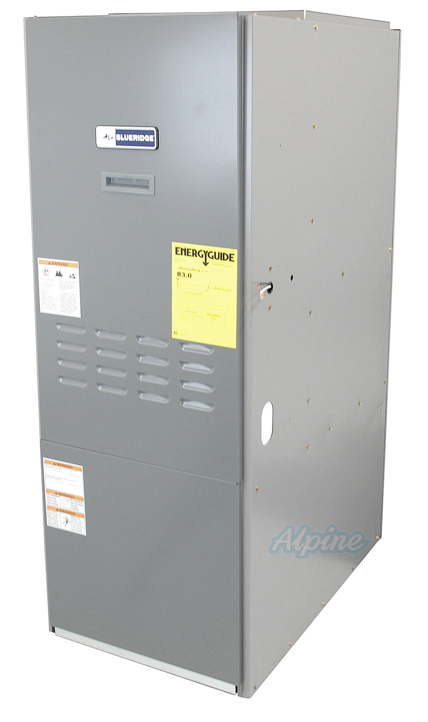 Blueridge BOL83UF HighBoy Upflow Oil Furnace 2