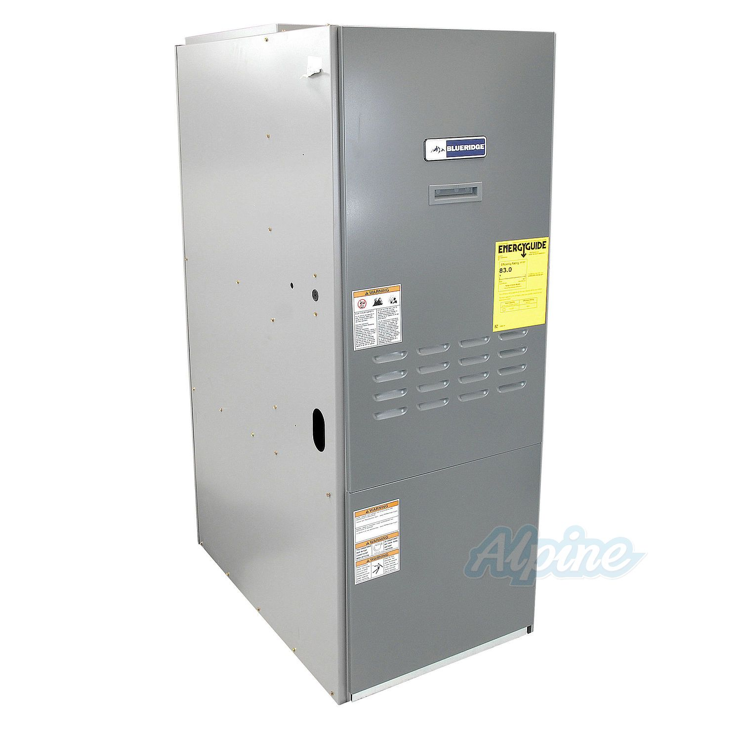 Blueridge BOL83UF HighBoy Upflow Oil Furnace 3