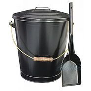 Wood Stove Ash Bucket and Shovel Kit