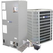 Blueridge Unitary System Bundle Heat Pump and Airhandler