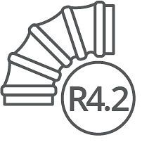 R4.2 Insulated Flexible Ducting