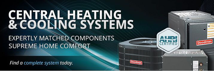 Central Heating & Cooling Complete Systems - Alpine Home Air Products