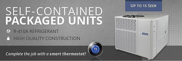 Self-Contained Package Unit Air Conditioning w/ Heat Option - Alpine Home Air Products