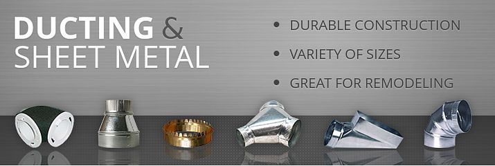 Ducting / Sheet Metal - Alpine Home Air Products