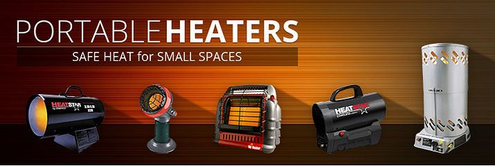 Portable Heaters - Alpine Home Air Products