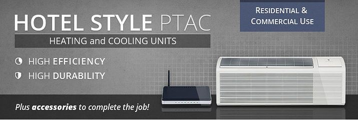 Hotel-Style Heating and Cooling Units (PTAC) - Alpine Home Air Products