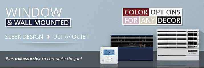 Window / Wall Air Conditioners - Alpine Home Air Products