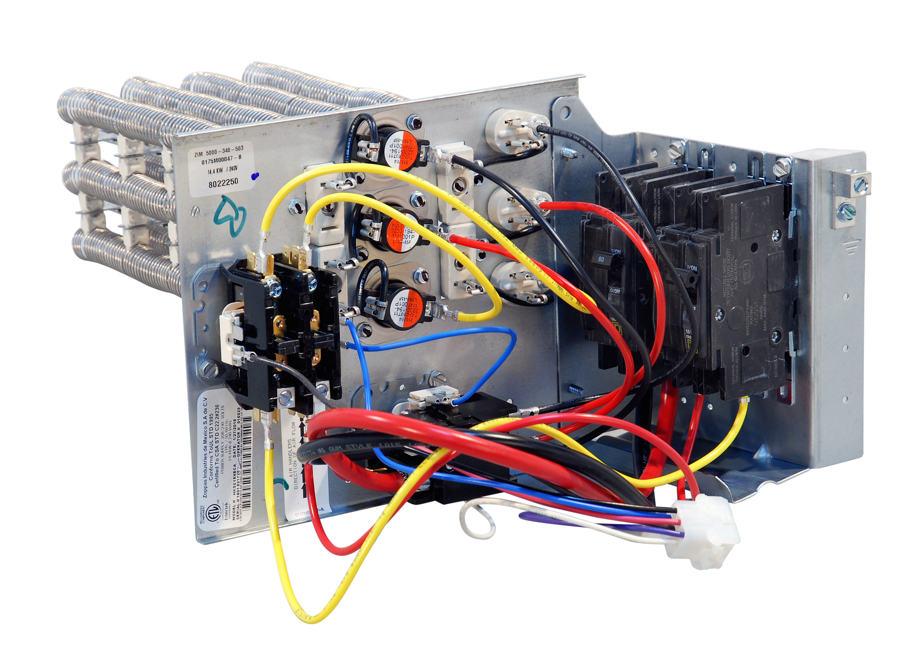 With Air Handler Wiring Diagrams Also Air Conditioner Contactor Wiring