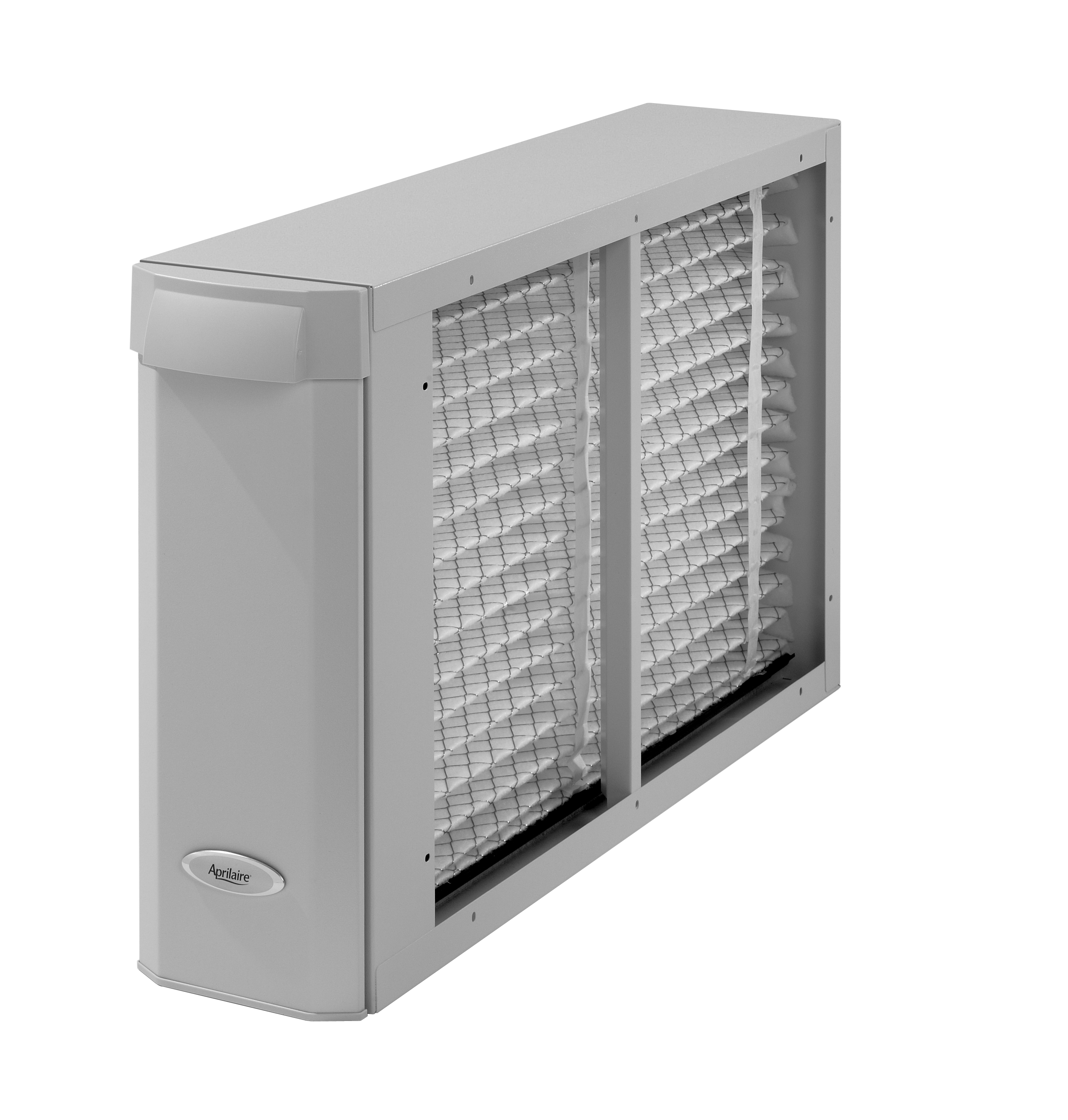 Aprilaire 2410 28 1 16W x 6 3 4D x 17 3 4H Inch Non Electric Whole House  Air Cleaner