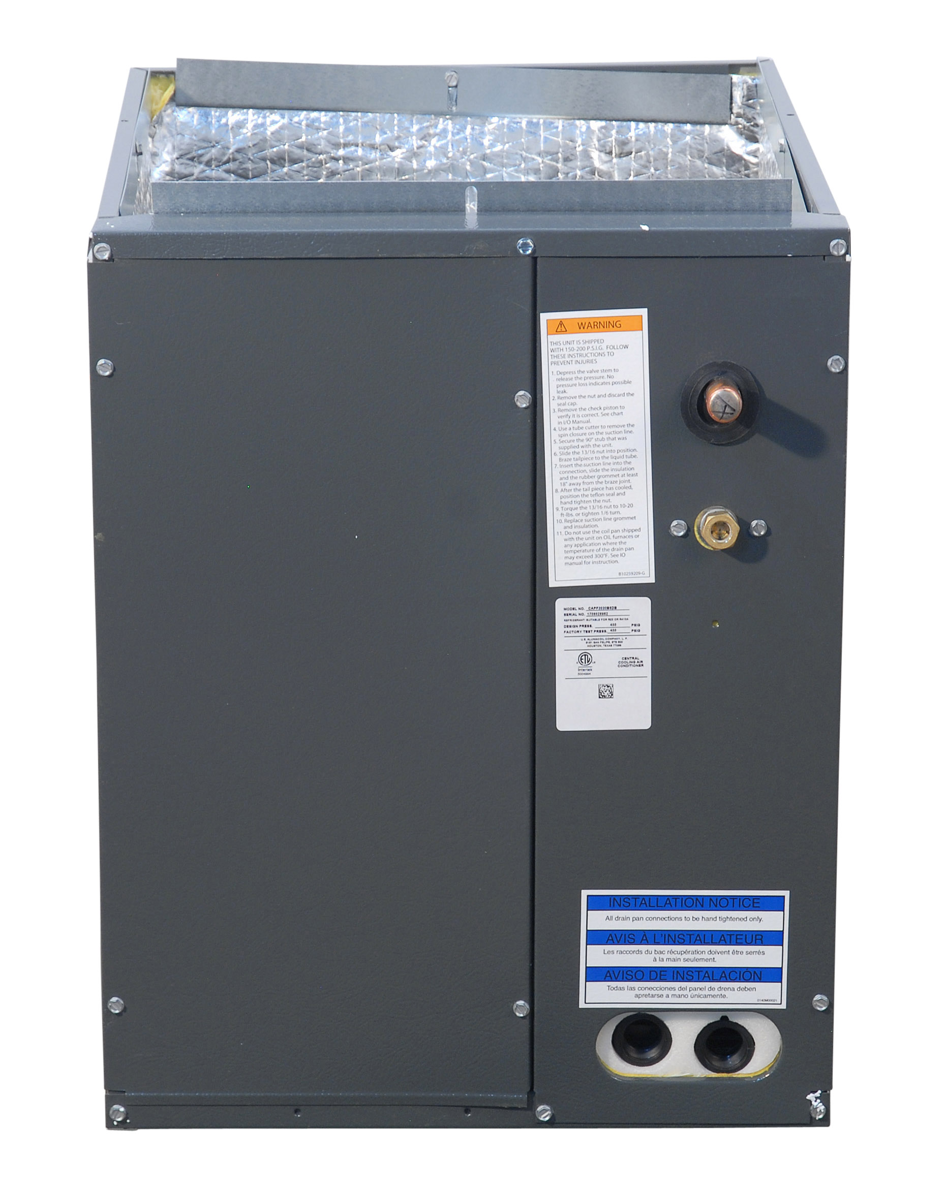 Goodman 3 to 3 5 Ton CAPF3642C6 Painted Cased Evaporator Coil
