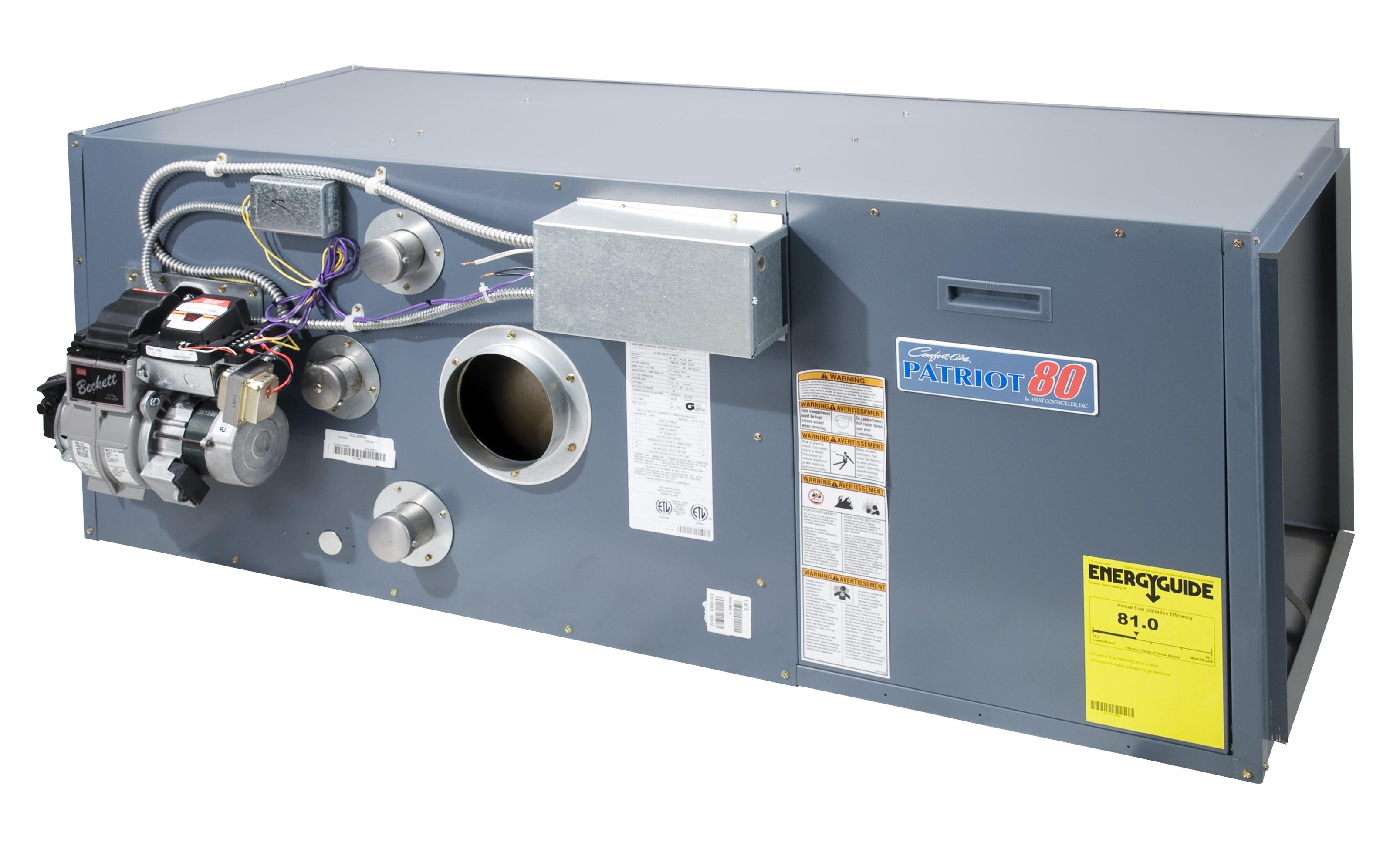 Comfort Aire 101,000-113,500 BTU ODRB95-D3-3A Oil Furnace