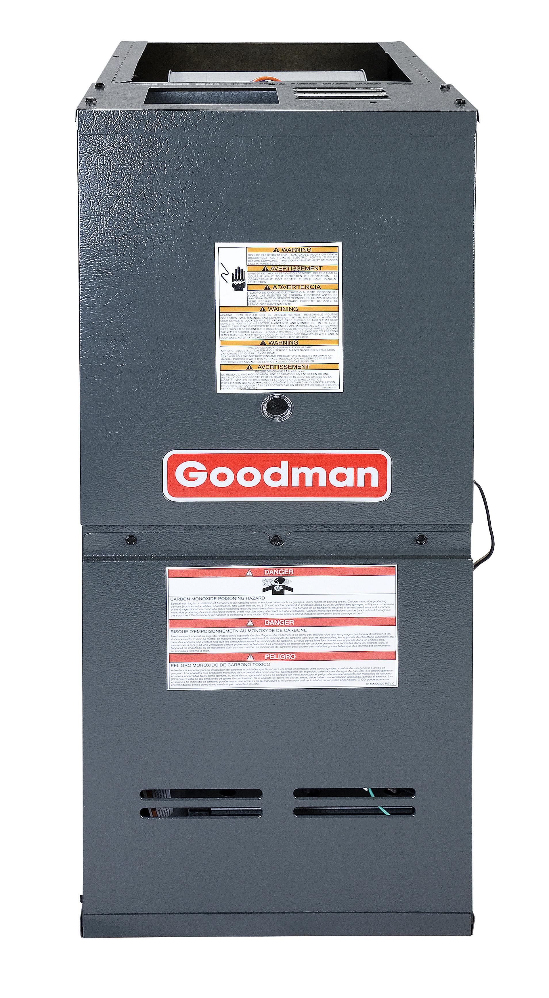 Goodman Gds81005cn 100 000 Btu Furnace 80 Efficiency Single Stage Wiring Diagram For Gas Units Burner 2 Cfm Multi Speed Blower Downflow Application